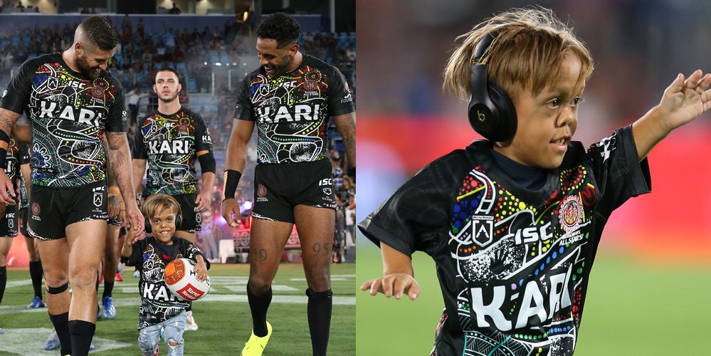 Bullied Australian Boy Quaden Bayles Runs the Field at Rugby Game!