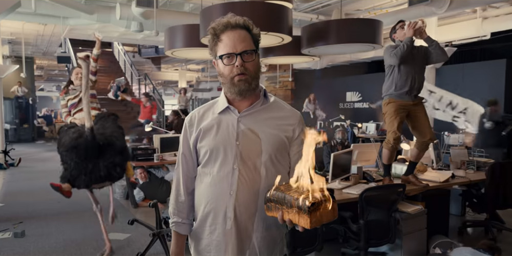 Little Caesars Super Bowl 2020 Commercial: Rainn Wilson Becomes The Pizza Delivery Guy