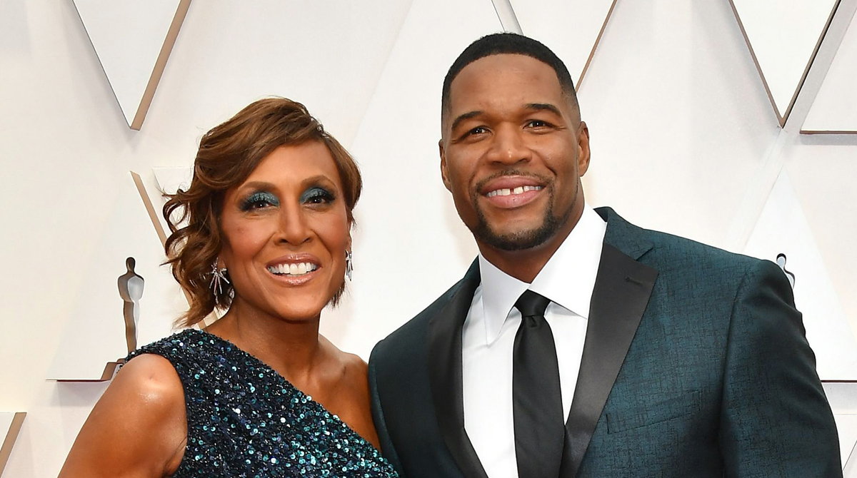 GMA's Michael Strahan & Robin Roberts Go Glam for Oscars 2020!