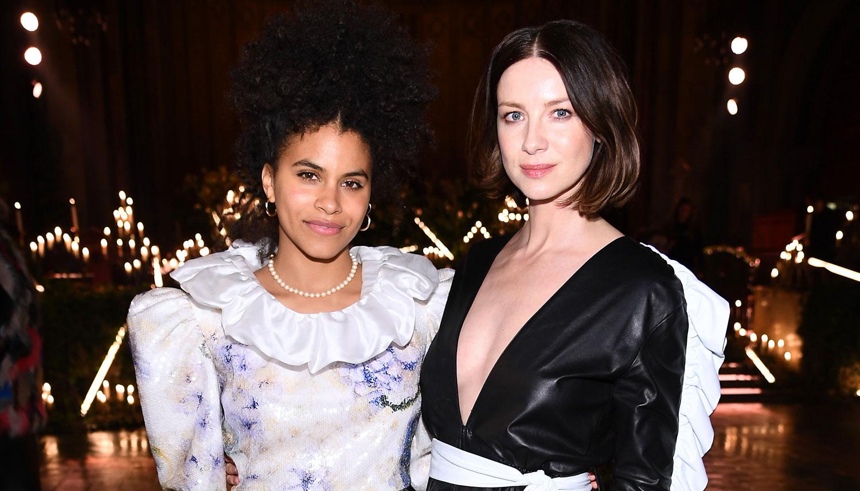 Caitriona Balfe & Zazie Beetz Go From the Oscars to NYFW!