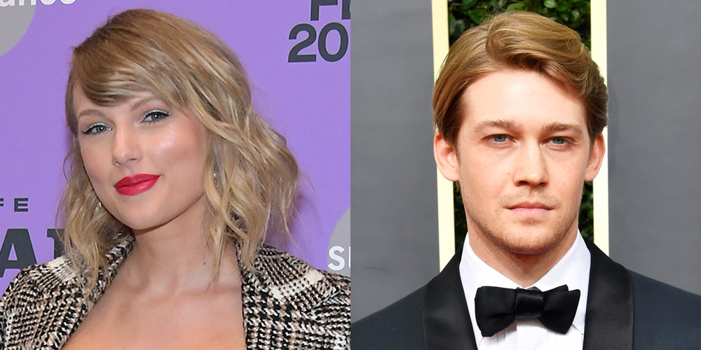 Taylor Swift & Joe Alwyn (Seemingly) Cover Themselves with Umbrellas to Hide from Paparazzi
