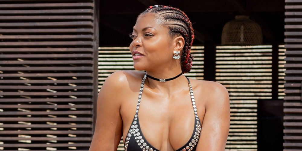 Taraji P. Henson Shows Off Her Fit Body on Vacation With Fiance Kelvin Hayden!