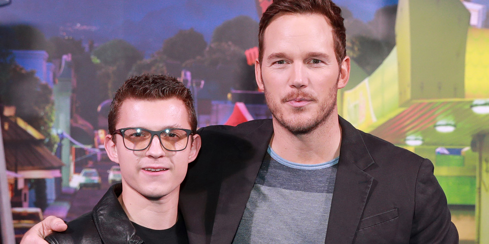 Chris Pratt & Tom Holland Reveal Who They'd Bring Back During 'Onward' Press