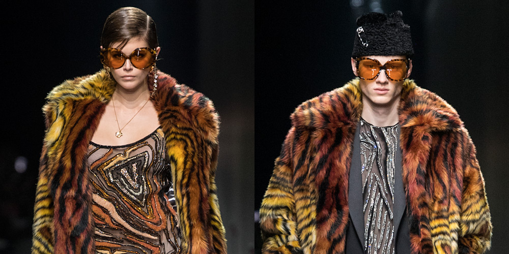 Versace's Milan Show Featured Its First Gender Fluid Collection