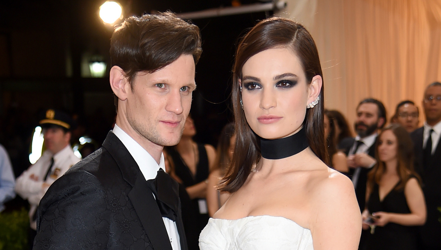 Lily James & Matt Smith Spotted Together First Time in