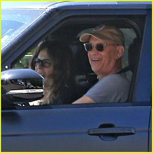 Tom Hanks & Rita Wilson Spotted Back in L.A. & They Look Like They're Feeling Better!
