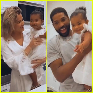 Khloe Kardashian & Tristan Thompson Celebrate Daughter True's 2nd Birthday Together!