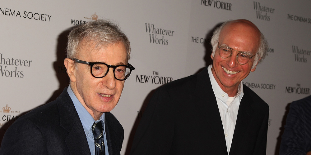Larry David Says It's Hard to Believe Woody Allen 'Did Anything Wrong' After Reading His Book