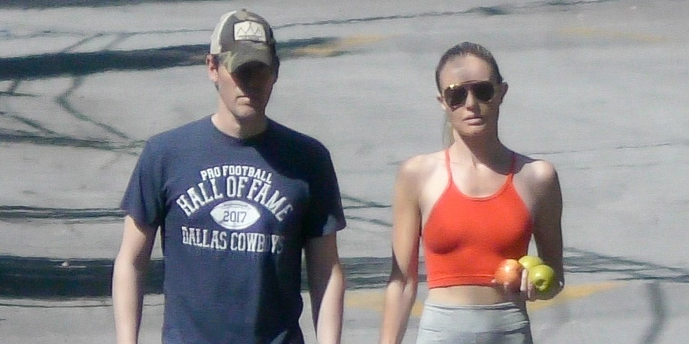 Kate Bosworth & Husband Michael Polish Enjoy a Stroll With Their Dog Over Memorial Day Weekend