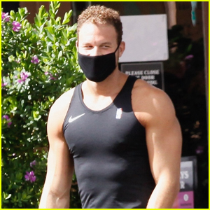 Blake Griffin's Chiseled Abs Can Be Seen Through His Tight Tank!