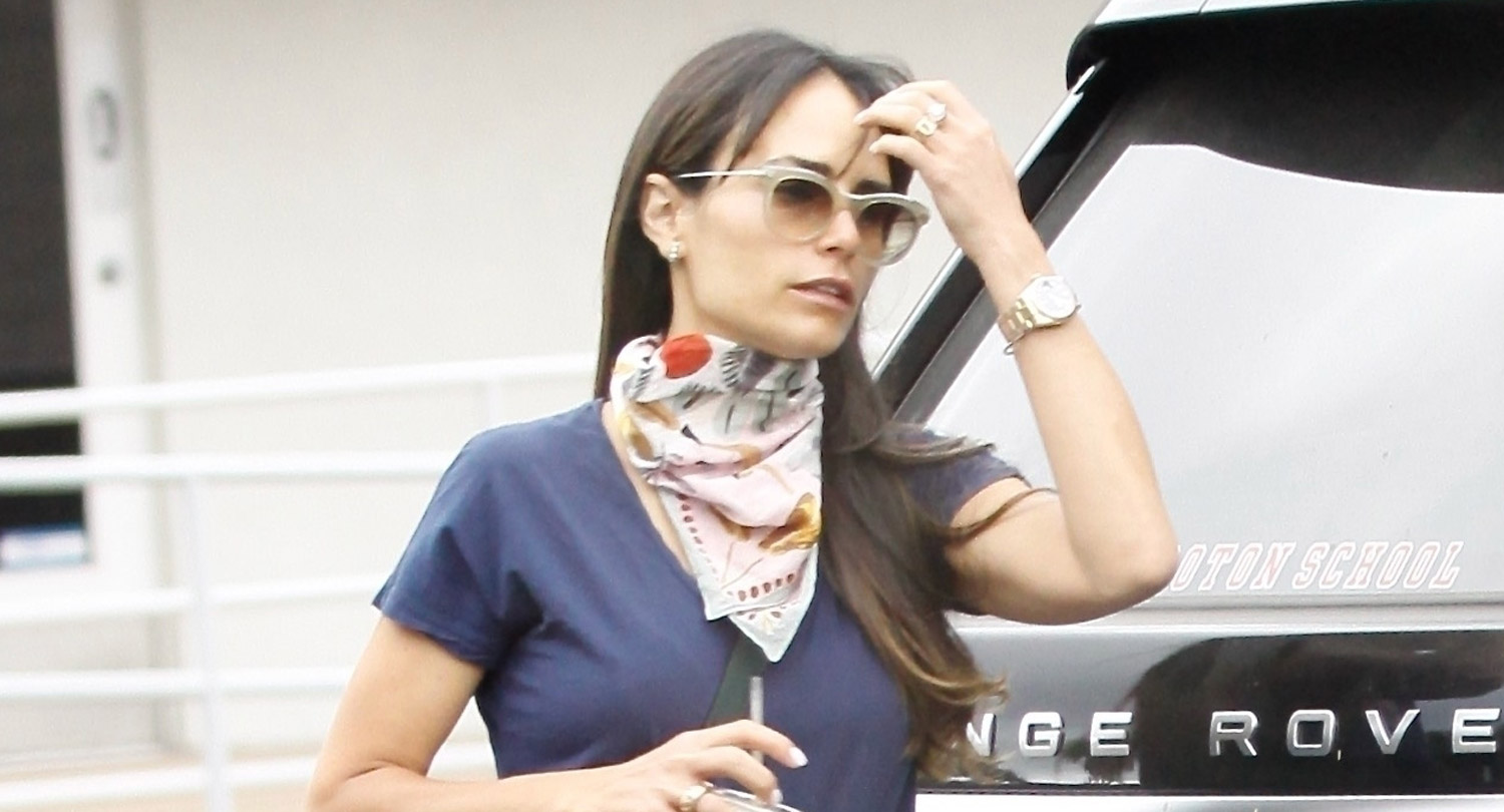 Jordana Brewster Steps Out Amid Report She's Split from Husband Andrew Form