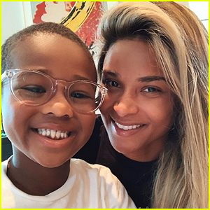 Ciara Pens Message to Son Future, 6, Amid Protests
