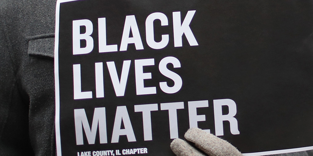 Trump Supporters Paint Over Black Lives Matter Mural