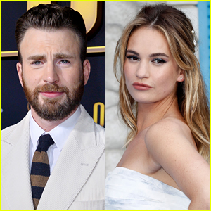 Chris Evans & Lily James Photographed on Another Date - Get the Details!