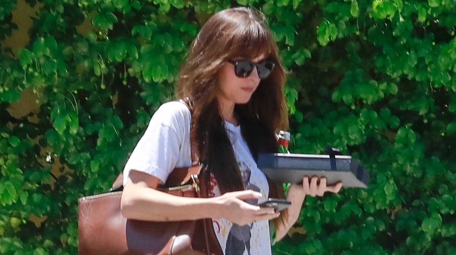 Dakota Johnson Steps Out for a Doctor Visit
