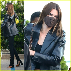 Kendall Jenner Heads To Nobu For Dinner With Friends After A Mini-Vacation in Utah