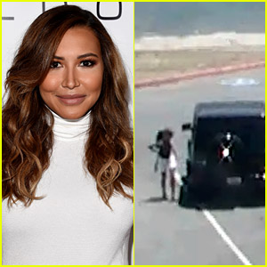 Police Release Video of Naya Rivera & Josey Arriving at the Lake, Riding Away in Boat