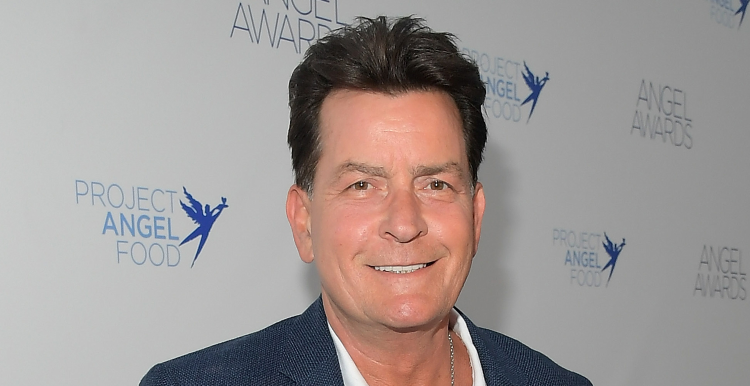 Charlie Sheen Marks One Year Since Giving Up Smoking