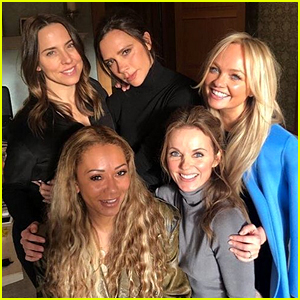 All Five Spice Girls Have a Socially Distanced Reunion!