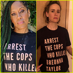 Celebs Mark 150 Days Since Breonna Taylor's Murder by Supporting T-Shirt Campaign