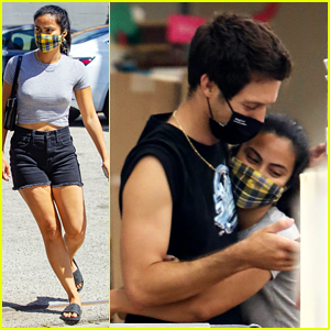 Camila Mendes Embraces Boyfriend Grayson Vaughan While Out Shopping