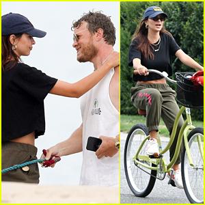 Emily Ratajkowski Spends the Week in the Hamptons with Husband Sebastian Bear-McClard