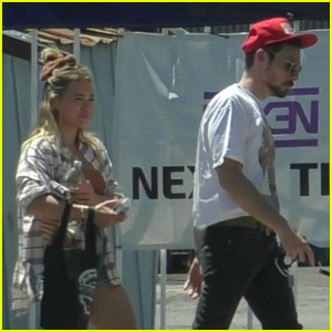 Hilary Duff Grabs Lunch with Hubby Matthew Koma in Encino