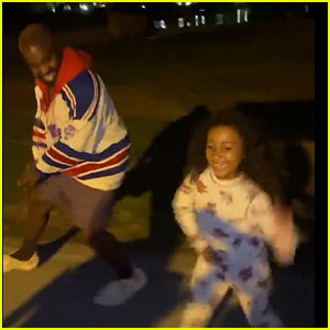 Kanye West Dances With Daughter North In 'Push The Feeling On' Viral Video