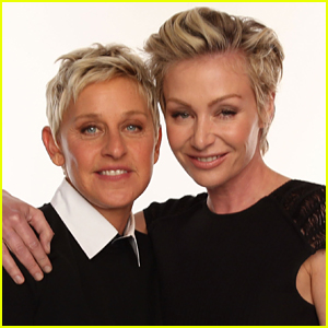Portia de Rossi Gives Two Word