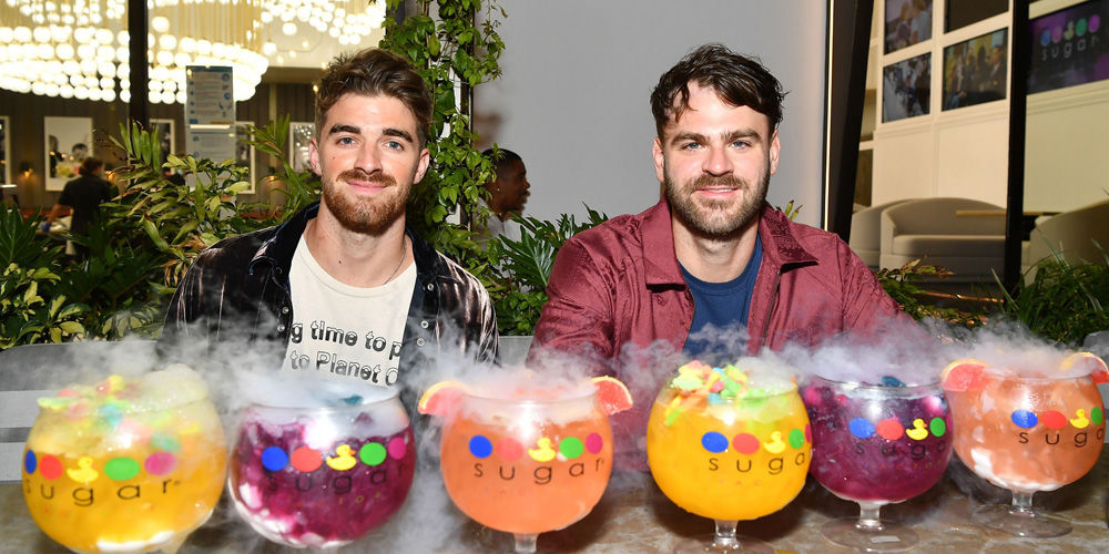 The Chainsmokers Debut Candy JAJA Tequila Goblets at Sugar Factory