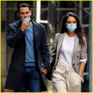 Katie Holmes Holds Hands with Emilio Vitolo Jr. in Latest NYC Sighting!