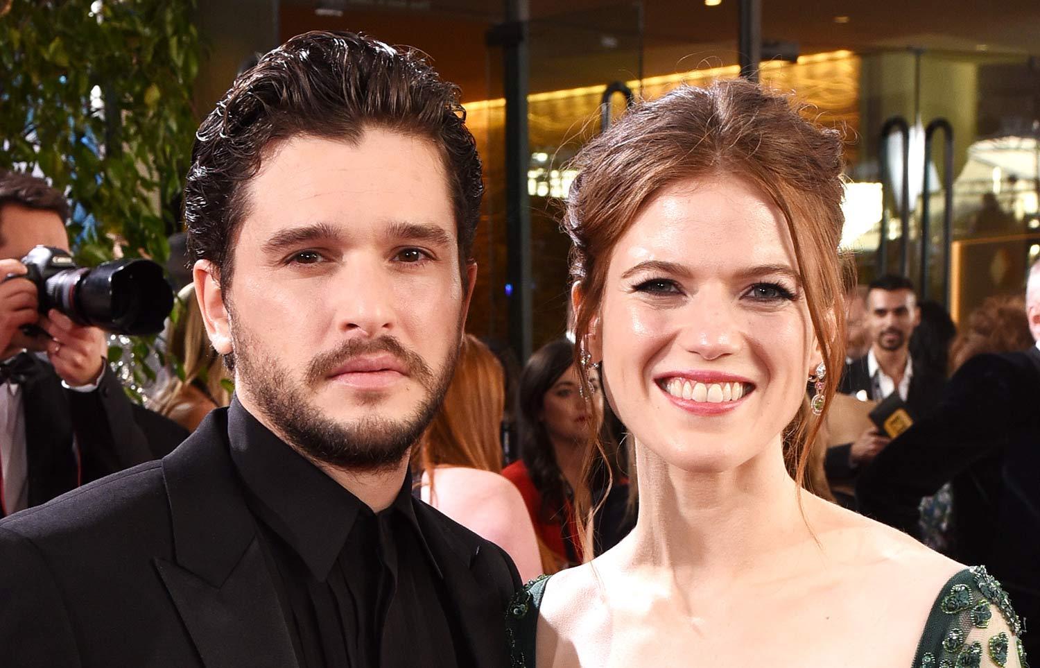 Rose Leslie Is Pregnant, Expecting First Child with Kit Harington!