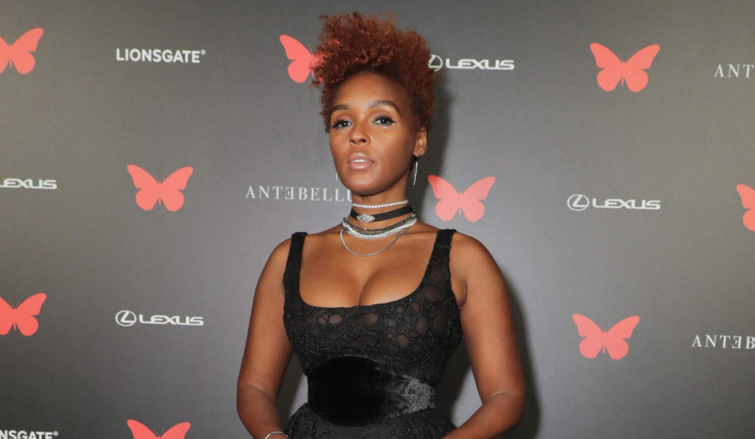 Janelle Monae Glams Up for Drive-In Premiere of 'Antebellum' at LA's The Grove!