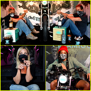 George Clooney & Rande Gerber Sent the Casamigos Halloween Truck Around L.A. & Lots of Stars Got In!