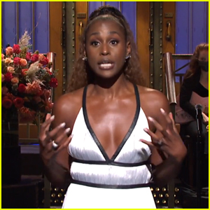 Issa Rae Talks Premiering 'Insecure' During 2016 Presidential Election in 'SNL' Monologue - Watch!
