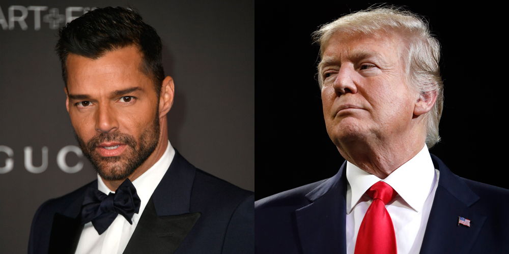 Ricky Martin Admits Seeing Latinx People Voting For Donald Trump is 'Really Scary'