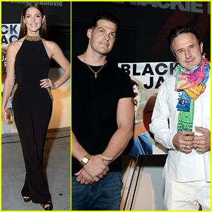 Ashley Greene Glams Up for 'Blackjack' Drive-In Premiere with Greg Finley & More