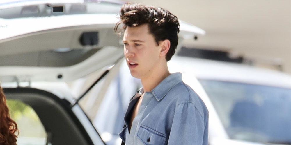 Austin Butler Steps Out While Filming Elvis Presley Biopic in Australia