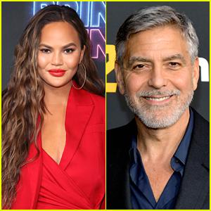 George Clooney Quite Enjoys Watching Chrissy Teigen Clap Back at Trolls Online