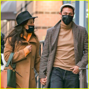 Katie Holmes & Boyfriend Emilio Vitolo Jr. Bundle Up in Chilly NYC