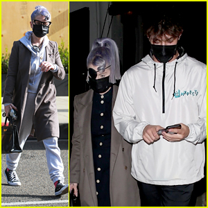 Kelly Osbourne Heads Out On Date Night With Griffin Johnson Before Getting Eye Patch Removed