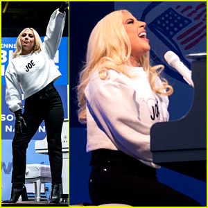 Lady Gaga Performs 'Shallow' & 'You And I' at Joe Biden's Final Rally Beofre Election Day (Video)