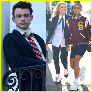 Thomas Doherty & 'Gossip Girl' Co-Stars Film New Series Around NYC!