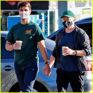 Jesse Tyler Ferguson Holds Hands with Hubby Justin Mikita on Coffee Run