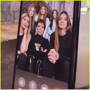 The Kardashian-Jenner Family Decided to Randomly FaceTime Their Famous Friends - Watch What Happened!
