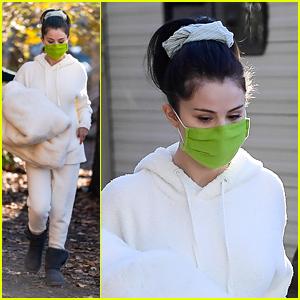 Selena Gomez Gets Cozy in All