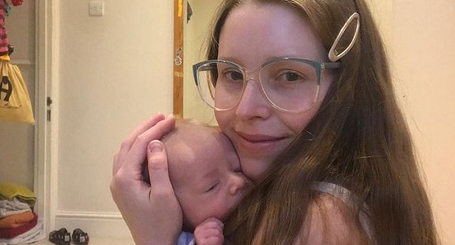 Harry Potter's Jessie Cave Reveals Three-Month-Old Son Is ...