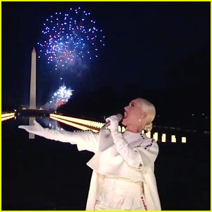 Katy Perry Trends After Performing 'Firework' At Celebrating America Inauguration Event