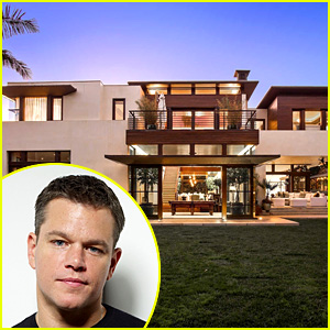 Look Inside Matt Damon's L.A. Mansion, Which He's Selling for $21 Million