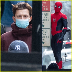 Tom Holland Suits Up While Filming 'Spider-Man 3' in Atlanta!
